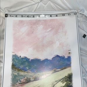 Hobby Lobby Wall Art - Pastel Nature Print In Frame New Unused